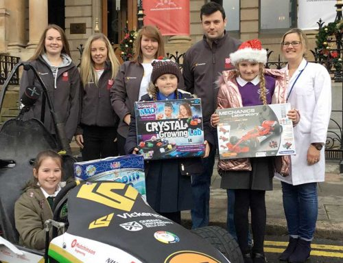 Science Starz teams up with Belfast Harbour and Vickerstock to promote STEM subjects to girls