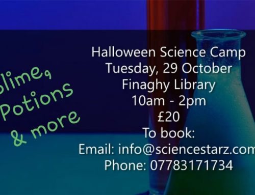 Science Starz is holding its first Halloween Science Camp on Tuesday, 29 October.