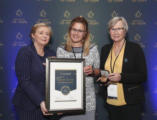 Science Starz Awarded All-Ireland Business All-Star Accreditation at Croke Park!